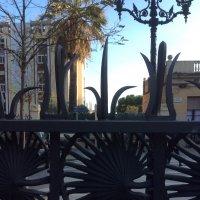 Барселона, парк Гуэль, ограда